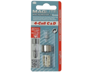 LMXA401 Mag Instrument 4 Cell C & D Xenon Replaces LMSA401