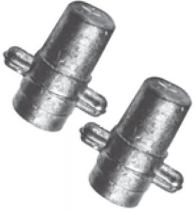 A008 Midtronics Female Lead Stud Adapters Group 31 / Top Threaded Post (1 Pair)