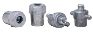 A033 Midtronics Lead Stud Adapters Group 31 / Top Threaded Post (2 male 2 female)