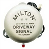 "805KIT Milton Industries Driveway Signal Bell With 50' 3/8"" Hose (6"" Bell)"
