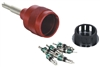 90376 Mastercool Valve Core Removal Kit (Complete W/6 Access Valve Cores)