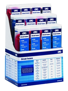3644 OTC 12-Pack Display Circuit Tester Assortment