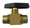 RA19044 Robinair Brass Panel Valve