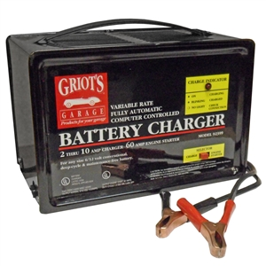 92399 Groits Automotive 6/12V 10/60A Automatic Variable Rate Battery Charger (New Old Stock)