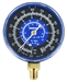 11797 Robinair Low Side Compound Refrigerant Manifold Gauge R22/134a -30 To 125 Psi/Bar