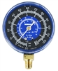 11744 Robinair Low Side Compound Refrigerant Manifold Gauge R134a/404A/507 -30 To 125 Psi/Bar