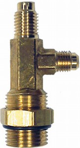 15495 Robinair Combination Inlet Tee For R 12 And R 134a