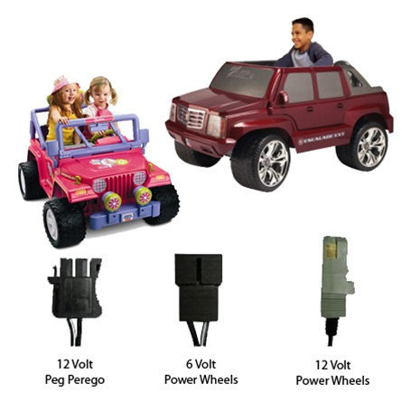 Charge N Ride 6 12 Volt Universal Battery Charger For Ride On Toys