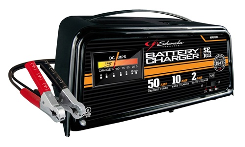 50 10 2 amp 12 volt manual automotive battery charger engine rh centurytool net Schumacher SpeedCharge 15A Manual Schumacher SpeedCharge 15A Manual