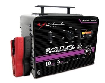 10 5 amp 6 12 volt shumacher multiple battery manual charger rh centurytool net Schumacher Battery Charger Parts Manual Schumacher Battery Chargers Automotive