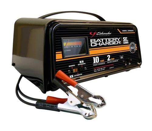 10 2 Amp 12 Volt Automatic Automotive Battery Charger Schumacher Se 520ma