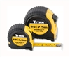 10903 Titan 2 Pc. Combo Dual Rule Tape Measure Set