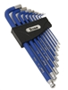 12714 Titan 9pc Metric Non Slip Extra Long Hex Key Set