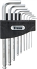 12736 Titan 9pc Detent Ball Metric Hex Key Set