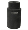 15328 Titan 28mm 1/2in Dr. 6pt Axle Nut Socket
