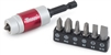 16008 Titan 8pc Magnetic Bit Holder With Bits