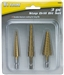 16503 Titan 3pc Step Drill Set