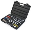 18194 Titan 75 Piece Chrome Socket Set