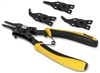 18402 Titan Convertible Internal External Snap Ring Plier Set