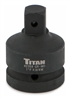42359 Titan 1in F to 3/4in M Impact Socket Adaptor