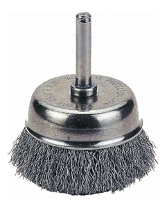 "1423-2106 Firepower Cup Brush 1-1/2"" Crimped Wire"