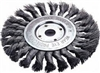 "1423-2113 Firepower Wheel Brush 4"" Knot. Wire"