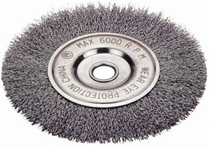 "1423-2123 Firepower Wheel Brush 8"" Crimped Wire"