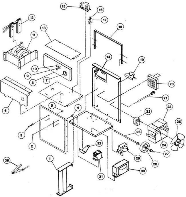 118 004 5z031 Dayton 2040 Amp Plasma Cutter