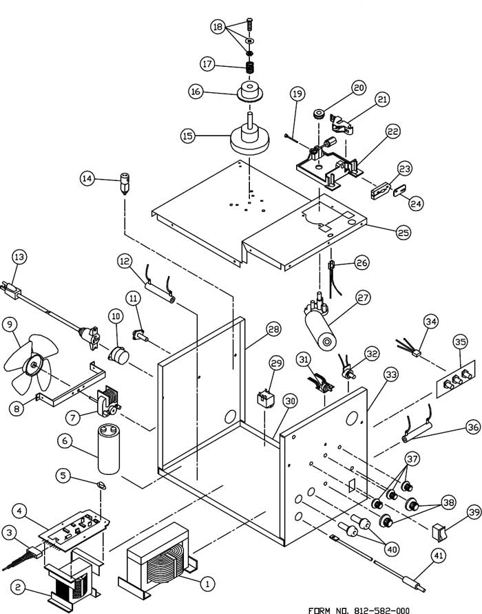 Welding Generator Circuit Diagram
