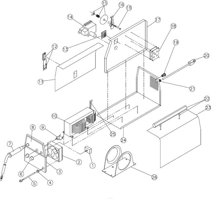 Century Mig Welder Parts Diagram 117 037 Find Wiring Diagram