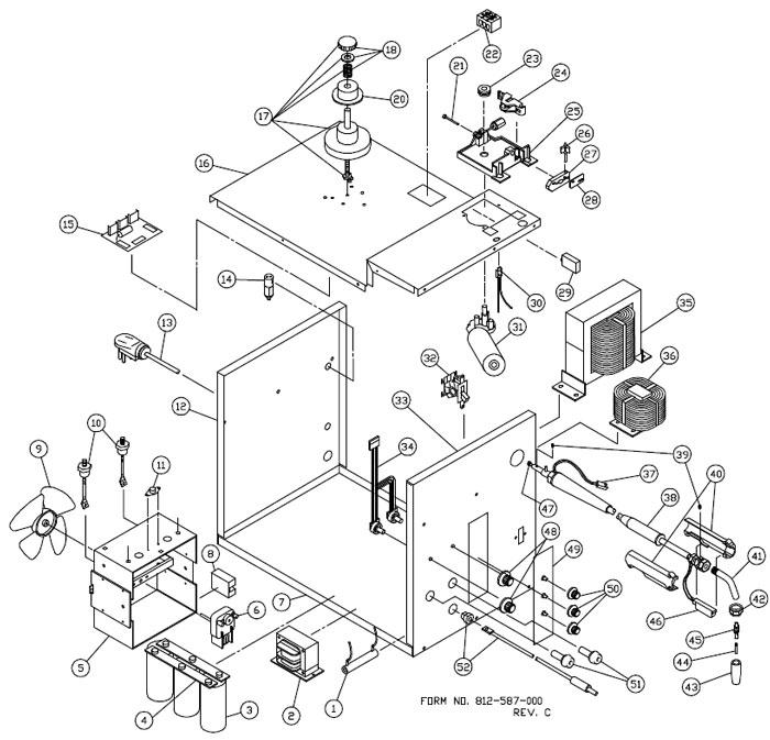 117 042 83225 Century 225 Amp Mig Welder Phase Control