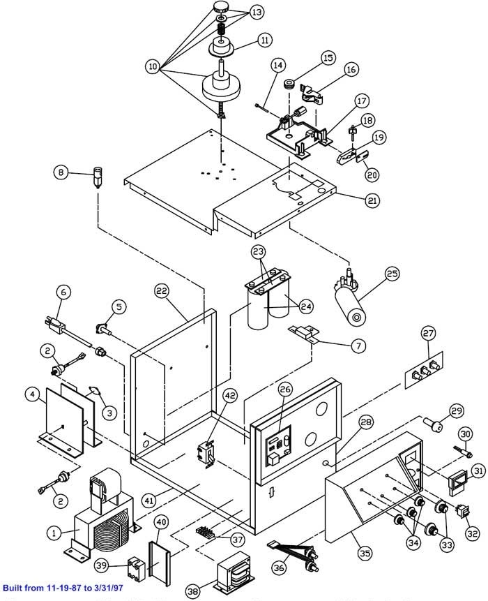 Solar 2175 Welder Wiring Diagrams