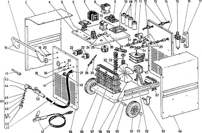 Snap-On Plasma Cutter O-Ring Parts YA5550