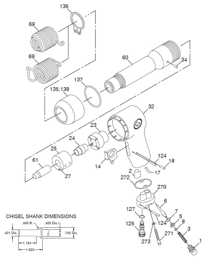 power steering parts diagram