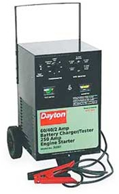 Dayton / Grainger Battery Charger Parts Listing By Model on