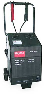 Dayton Grainger Battery Charger Parts Listing By Model