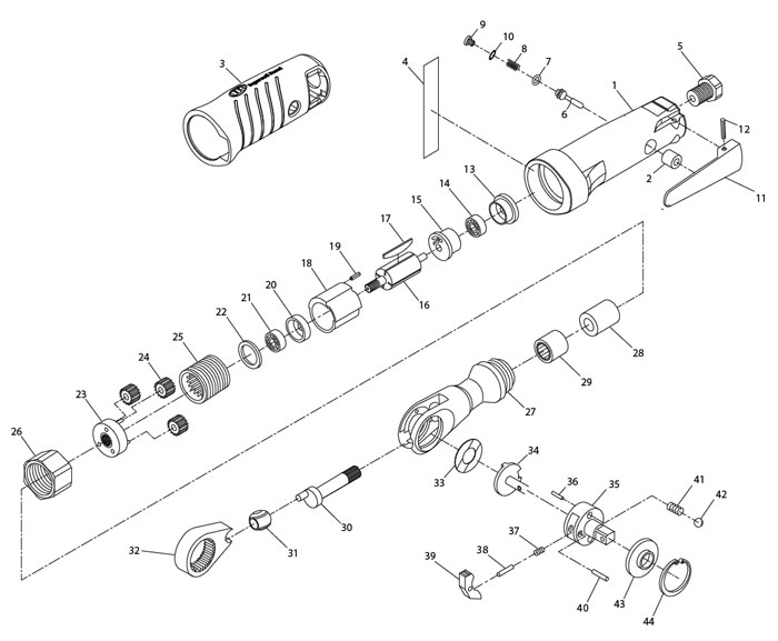 Ratchet Parts Diagram