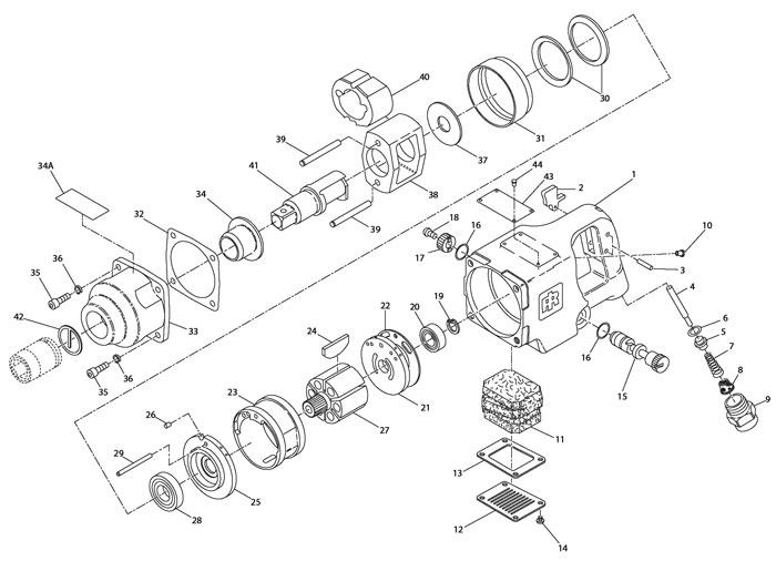 Ingersoll-Rand 1720B 1