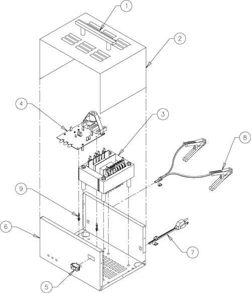 9420 Associated Battery Charger Parts List
