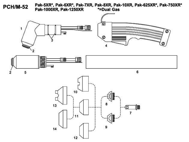 thermal arc pak 10xr manual
