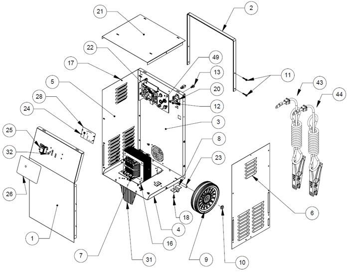 Schumacher Wiring Diagram   Repair Manual on