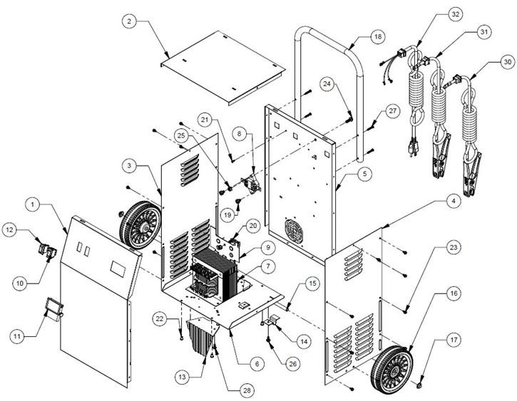 33 Schumacher Battery Charger Se 4020 Wiring Diagram