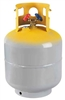 CRX400T CPS 50lb. 1/4 Flare Refillable DOT Refrigerant Tank