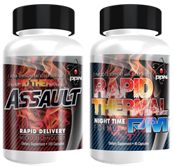 Rapid Thermal ASSAULT® 24 Hour Fat Loss - LEVEL 3 (45 Day Supply)