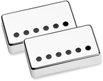 Seymour Duncan 11800-20-Nc Humbucker Pickup Cover SET (2) - Nickel .386 Hole Spacing