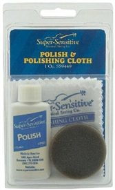 Super Sensitive 9449 Violin Polishing Kit - Polish, Sponge, Cloth