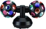 Visual Effects Double Disco Ball 5 Inch Ball 0231JR