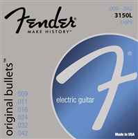 Fender Original Bullets 3150L Light Electric Guitar Strings .09-.42