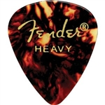 Fender Classic 351 Celluloid Guitar Picks Heavy Package of 144