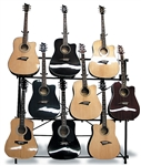 Mirage AGR1009 9 Guitar Display Rack - Multi-Guitar Stand System